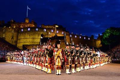 Muziekreis The Royal Edinburgh Military Tattoo (Oad)