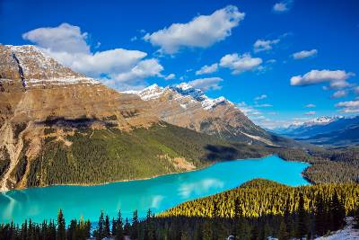 Canadian Rockies by Train (Collette)