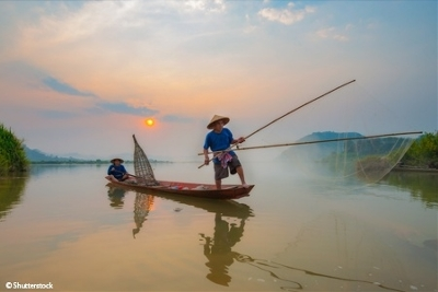 From the Temples of Angkor to the Mekong Delta, Hanoi, and Halong Bay (port-to-port cruise) (Croisi Voyages)